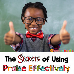 How do you know if the praise you are giving students is having the desired effect? Do you want to know the secrets to using effective praise while also helping students develop a growth mindset? Here is a list of important do's and don'ts when praising students in your classroom!