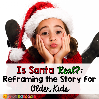 Is Santa Real? It's the dreaded question that no parent wants to hear. Reframing the story of Santa for older children doesn't have to be so earth shattering though. Here are some tips about what to tell your kids about Santa. The truth about Santa....