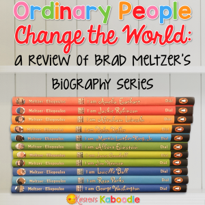 "Are you looking for a fun way to teach your students or children about important historical figures without boring them to death? Brad Meltzer has you covered! His ""Ordinary People Change the World"" series infuses engaging text with bright illustrations, for just the right combination of facts and fun. People of all ages will love the I AM book series by Brad Meltzer!"