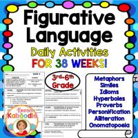 Figurative Language Daily Warm-Ups