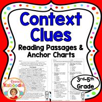 Context Clues Reading Passages