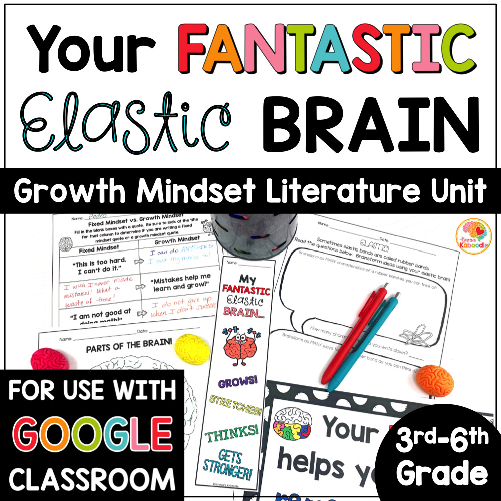 Your Fantastic Elastic Brain Activities COVER