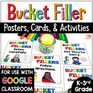 Bucket Filler Activities COVER