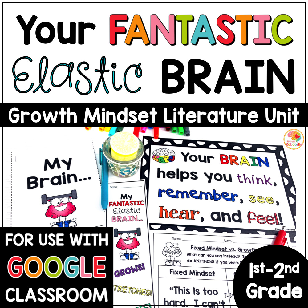 Your Fantastic Elastic Brain Activities for Lower Grades COVER