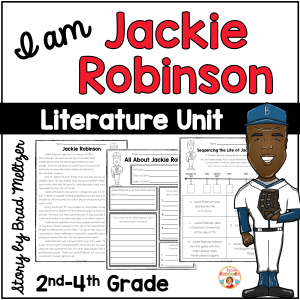 I am Jackie Robinson Activities