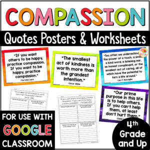 Compassion Quotes and Activities COVER