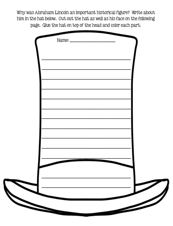 I am Abraham Lincoln by Brad Meltzer Literature Activities