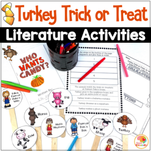 Turkey Trick or Treat Activities COVER