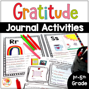Gratitude Journal Activities