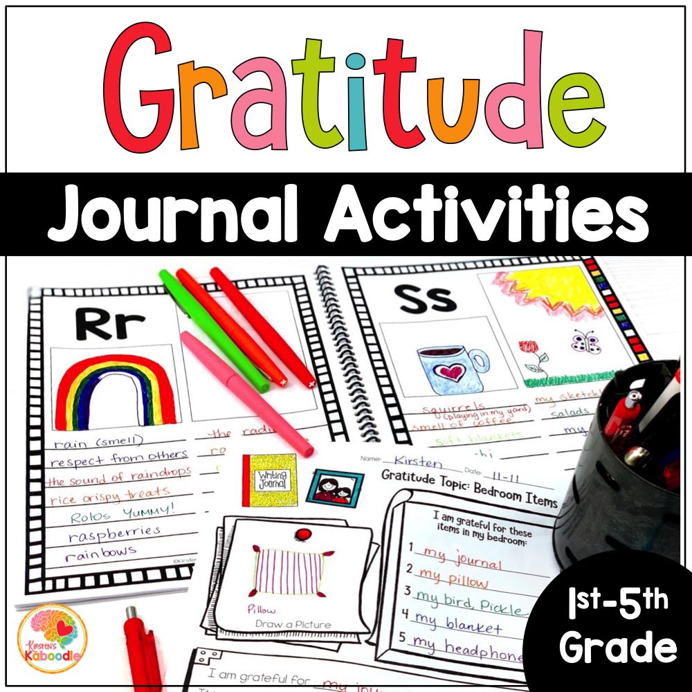 Gratitude Journal Activities