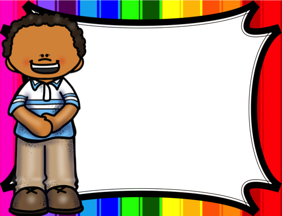 Behavior Chart and Classroom Rules - Rainbow Theme