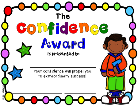 End of Year Character Traits Awards (for Upper Grades)