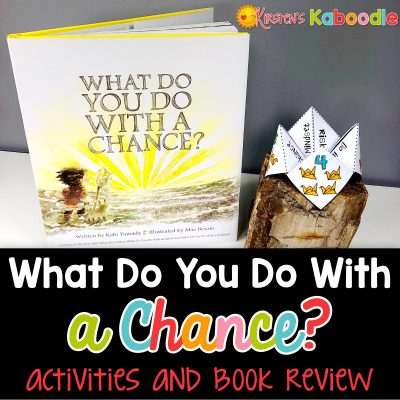 Are you teaching your students about growth mindset? Do you need resources to help your students understand the value of taking risks? What Do You Do With a Chance by Kobi Yamada is the perfect segue for students to understand the value in taking chances and risks. Here are some suggested activities that you can use with What Do You Do With a Chance?