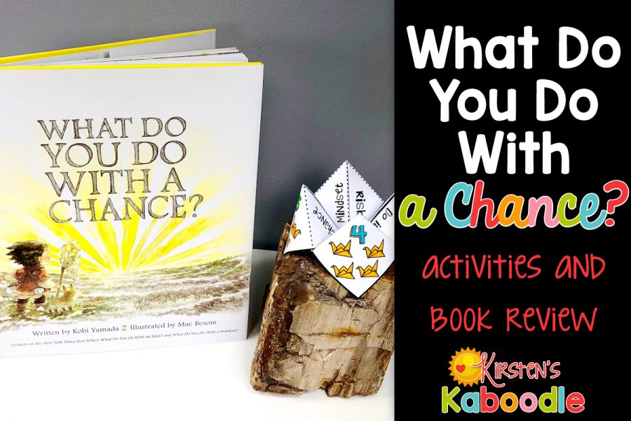 Are you teaching your students about growth mindset? Do you need resources to help your students understand the value of taking risks? What Do You Do With a Chance by Kobi Yamada is the perfect segue for students to understand the value in taking chances and risks. Here are some suggested activities that you can use with What Do You Do With a Chance.