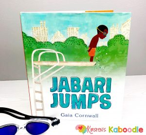 Jabari Jumps by Gaia Cornwall is a perfect book for teaching kids about growth mindset concepts such as perseverance, grit, facing fears, and the power of YET.