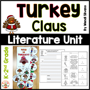 Turkey Claus Literature Unit Activities