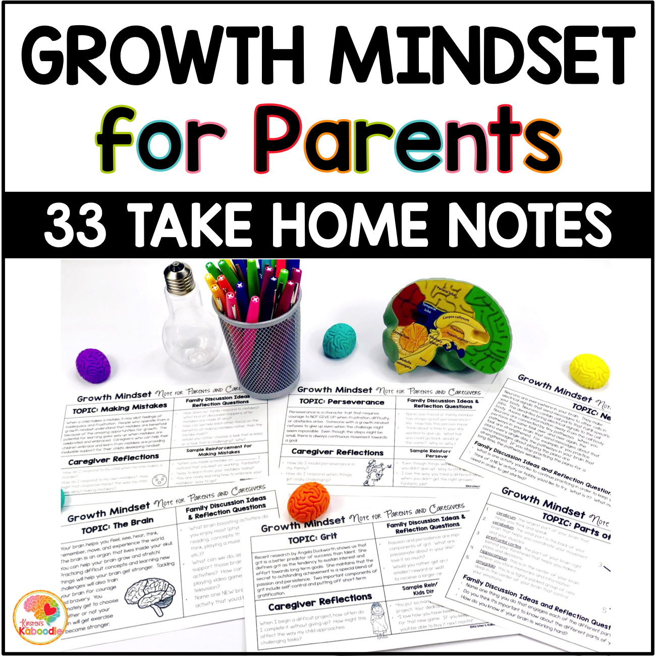 Growth Mindset Information for Parents