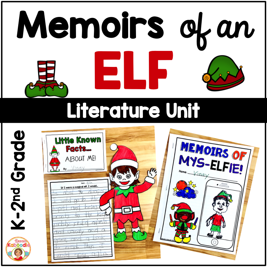 Memoirs of an Elf Activities