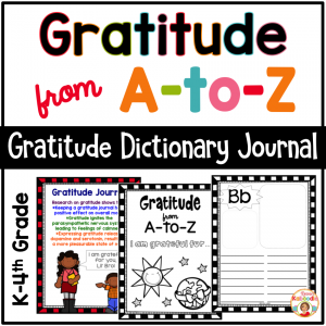 Gratitude Journal from A to Z