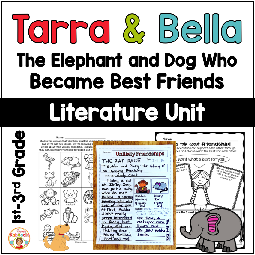Tarra and Bella: The Elephant and Dog Who Became Best Friends