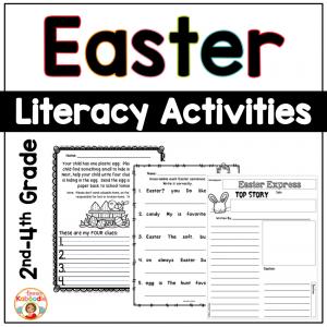 Easter Literacy Activities - NO PREP