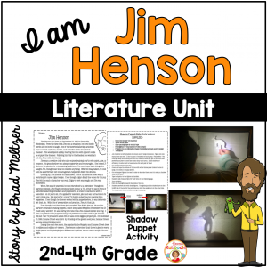 I am Jim Henson by Brad Meltzer Literature Activities