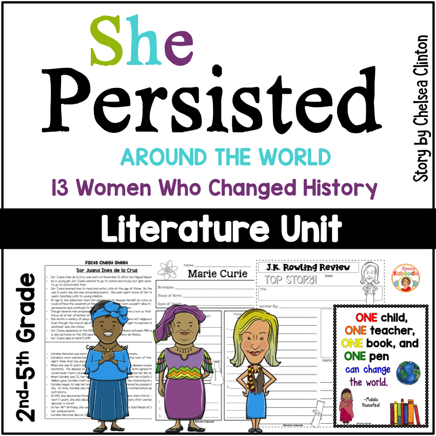 She Persisted: Around the World by Chelsea Clinton
