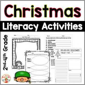 Christmas Literacy Activities No Prep
