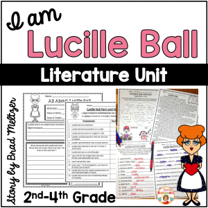 I am Lucille Ball by Brad Meltzer Literature Activities
