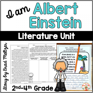 I am Albert Einstein by Brad Meltzer Literature Activities