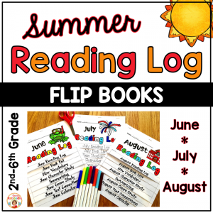 Reading Logs - Flip Books for Summer