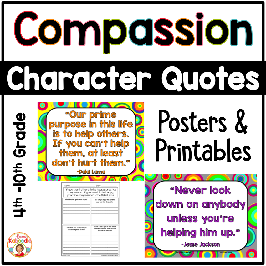 Compassion Quotes Posters and Printables