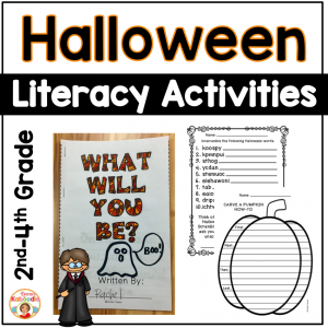 Halloween Literacy Activities - NO PREP