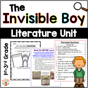 The Invisible Boy Activities