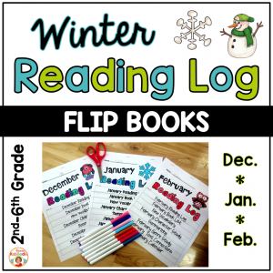 Reading Logs - Winter Flip Books