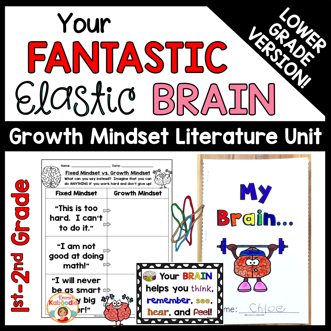 Your Fantastic Elastic Brain (for lower grades)