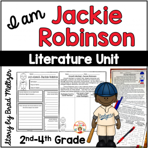 I am Jackie Robinson by Brad Meltzer Literature Activities