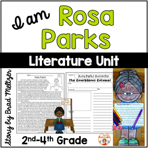 I am Rosa Parks by Brad Meltzer Literature Unit