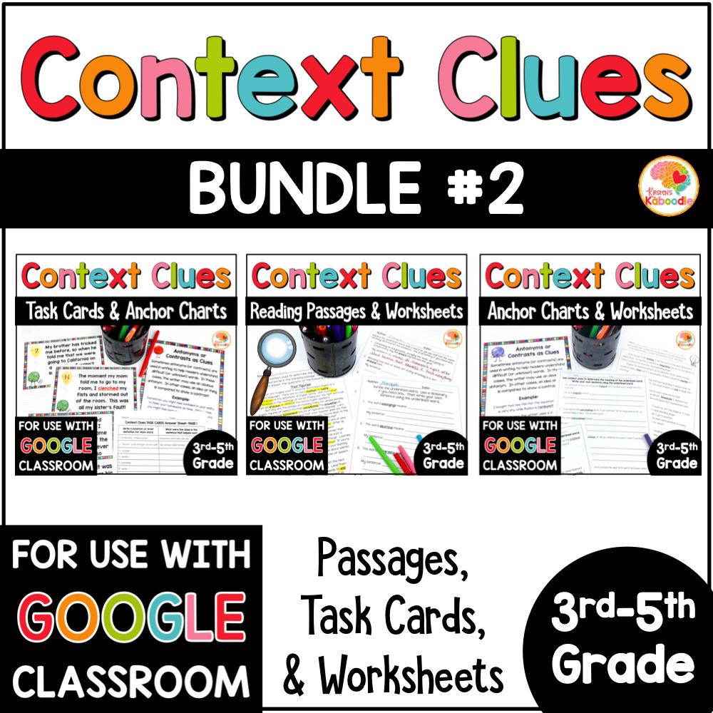 Context Clues BUNDLE 2 COVER