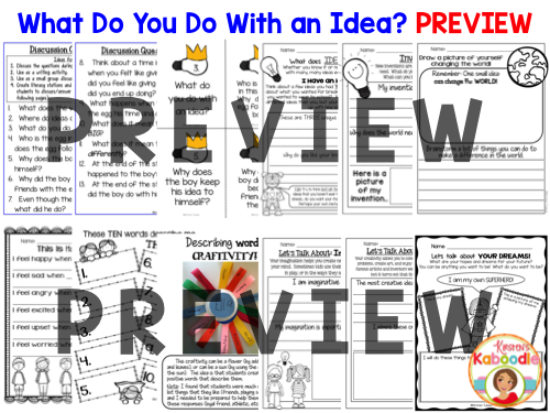 What Do You Do With an Idea? PREVIEW