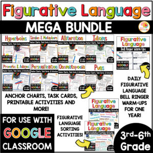 Figurative Language Ultra Mega Bundle COVER
