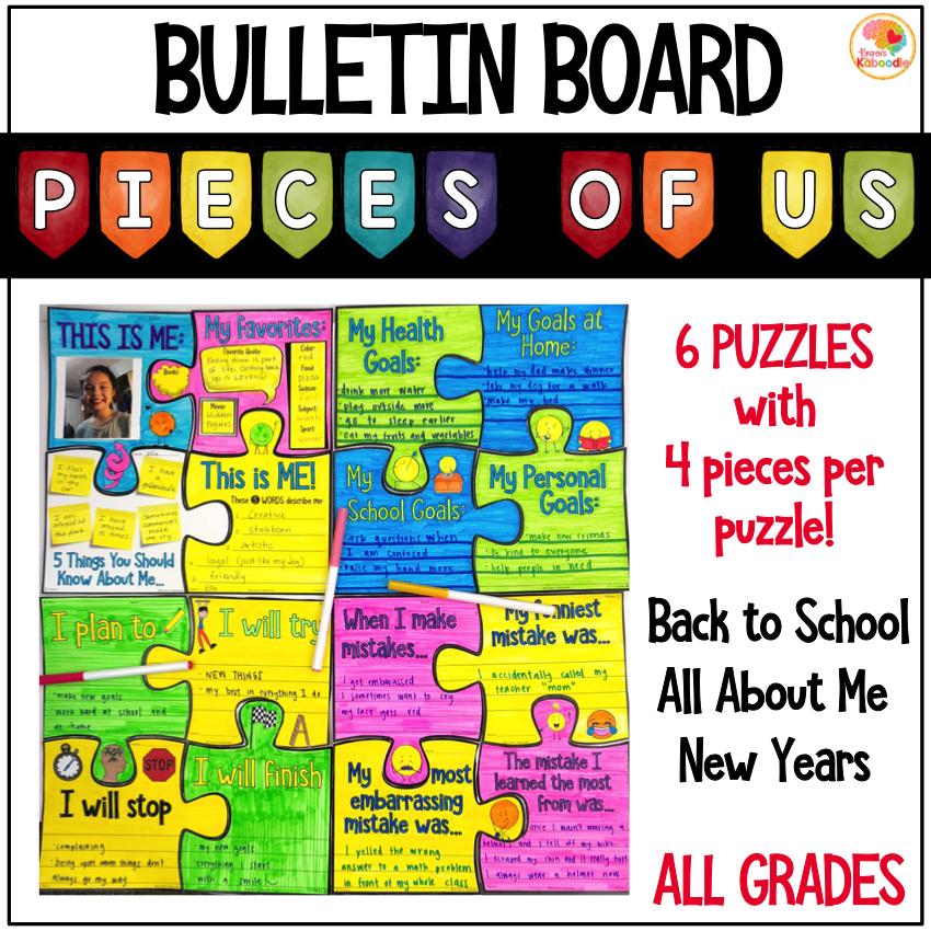Puzzle Bulletin Board Activity