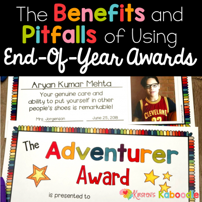 End-of-Year Awards: Benefits and Pitfalls