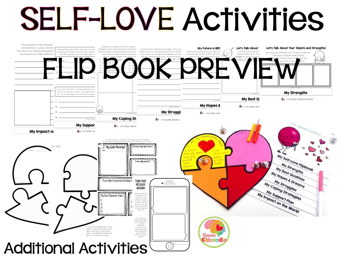 Self-Love Activities PREVIEW