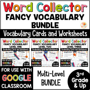 Word Collector Word of the Week Multi-Level BUNDLE COVER