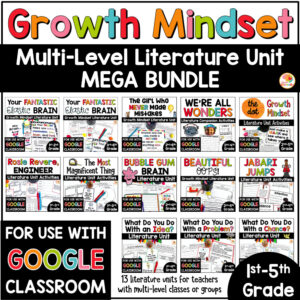 Growth Mindset Picture Book Mega Bundle COVER