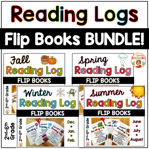 Full Year Reading Logs BUNDLE