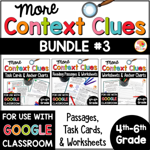 Context Clues BUNDLE 3 COVER