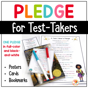 Test Taking Encouragement Pledge