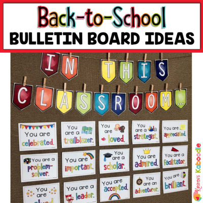 Back-to-School Bulletin Board Ideas That Build Community